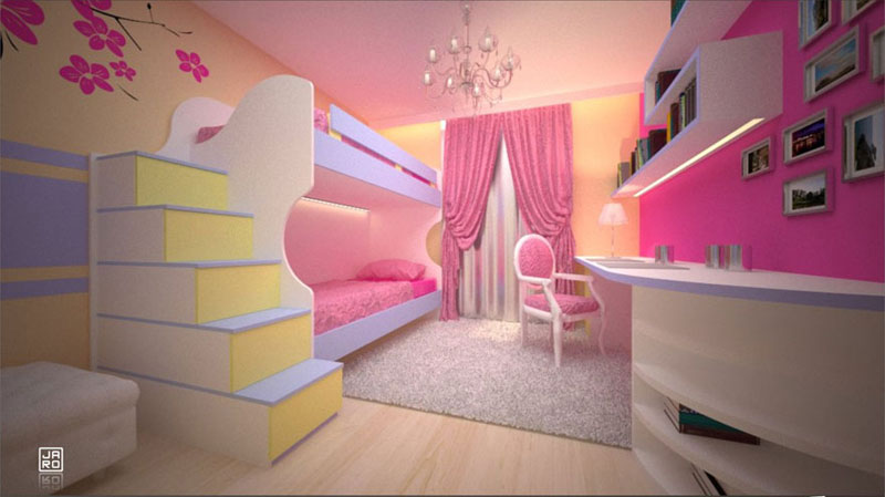 kinderzimmer einrichtungsideen schranksysteme. Black Bedroom Furniture Sets. Home Design Ideas