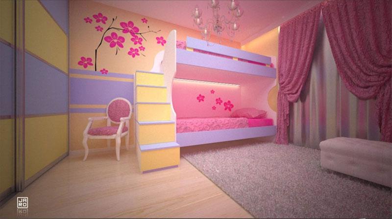 kinderzimmer einrichtungsideen schranksysteme. Black Bedroom Furniture Sets. Home Design Ideas