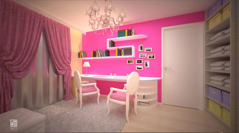 einrichtungsideen kinderzimmer kinderzimmer m dchen. Black Bedroom Furniture Sets. Home Design Ideas