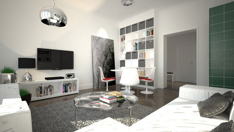 wohnzimmer einrichtung schranksysteme. Black Bedroom Furniture Sets. Home Design Ideas