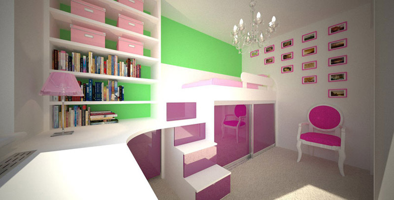 kleine kinderzimmer gestalten decoraiton. Black Bedroom Furniture Sets. Home Design Ideas
