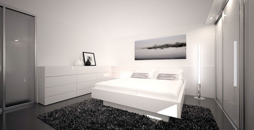 kleines schlafzimmer einrichten schranksysteme. Black Bedroom Furniture Sets. Home Design Ideas