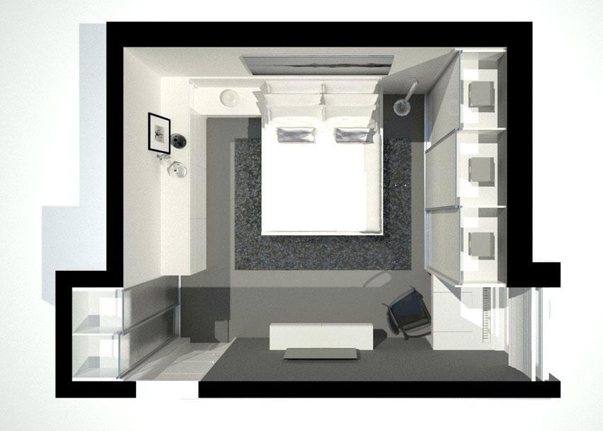 Turbo Kleines Schlafzimmer einrichten | Schranksysteme NX71